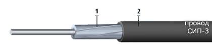 Провод СИП-3-1х50